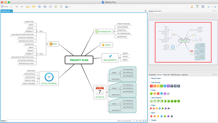 a brand new ui - Osx Mind Mapping