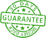 100% 30-day Money Back Guaranteed!